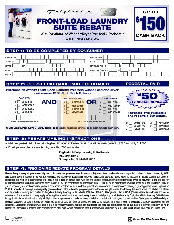 pdf for Frigidaire Dryer AGQ7000ES manual