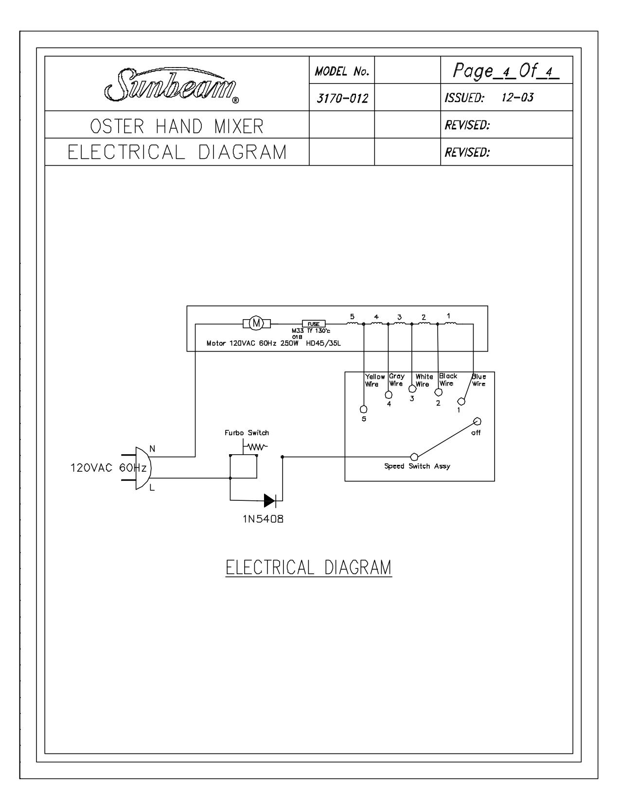 PDF manual for Oster Other 3170 hand mixer on powered mixer diagrams, mixer circuit schematic, mixer parts, xbox 360 cable connections diagrams, pro tools studio diagrams, home theater system connection diagrams, sewage pump venting diagrams, audio connector diagrams,