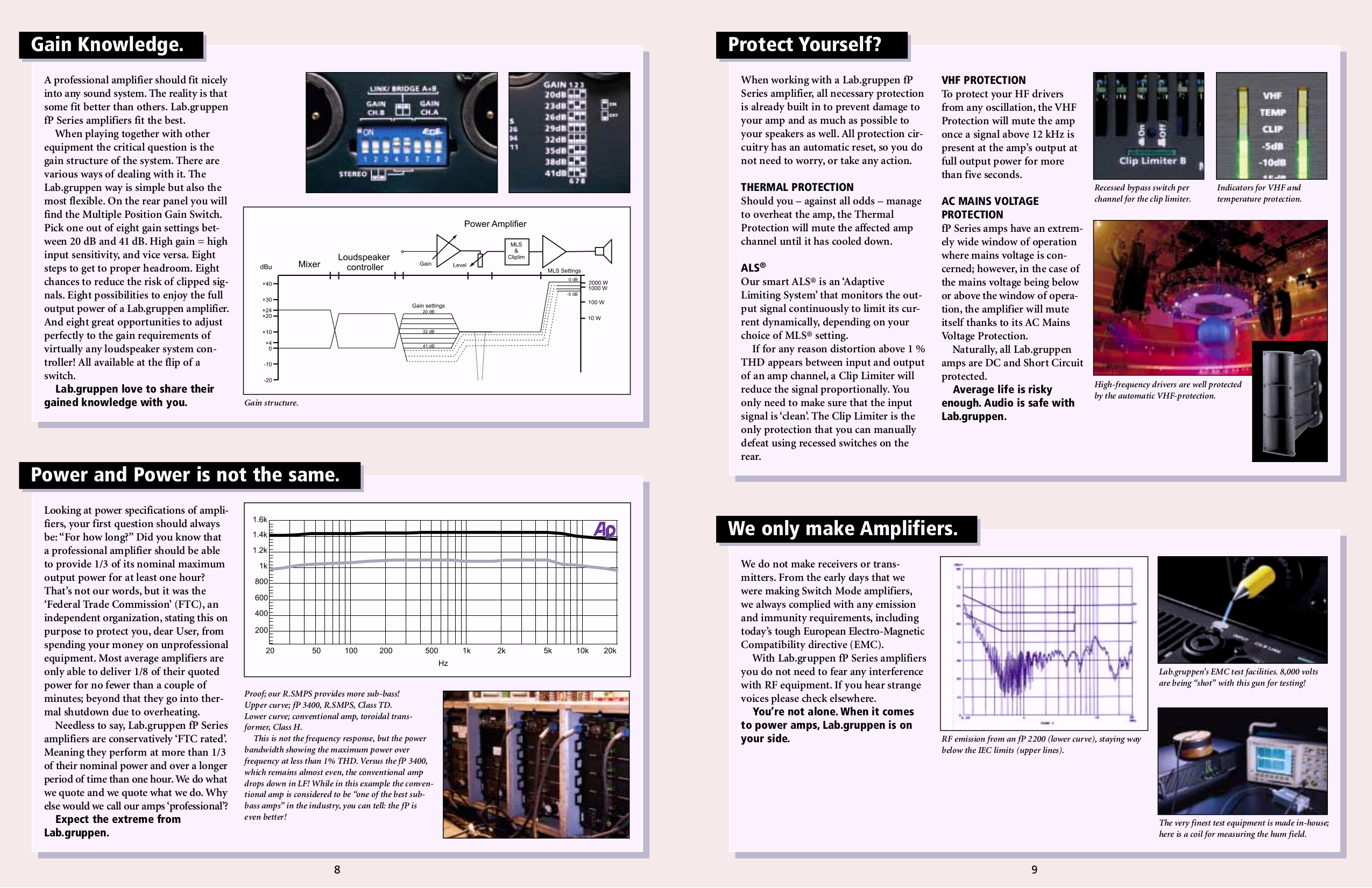 Lab.gruppen Car Amplifier FP 2200 pdf page preview