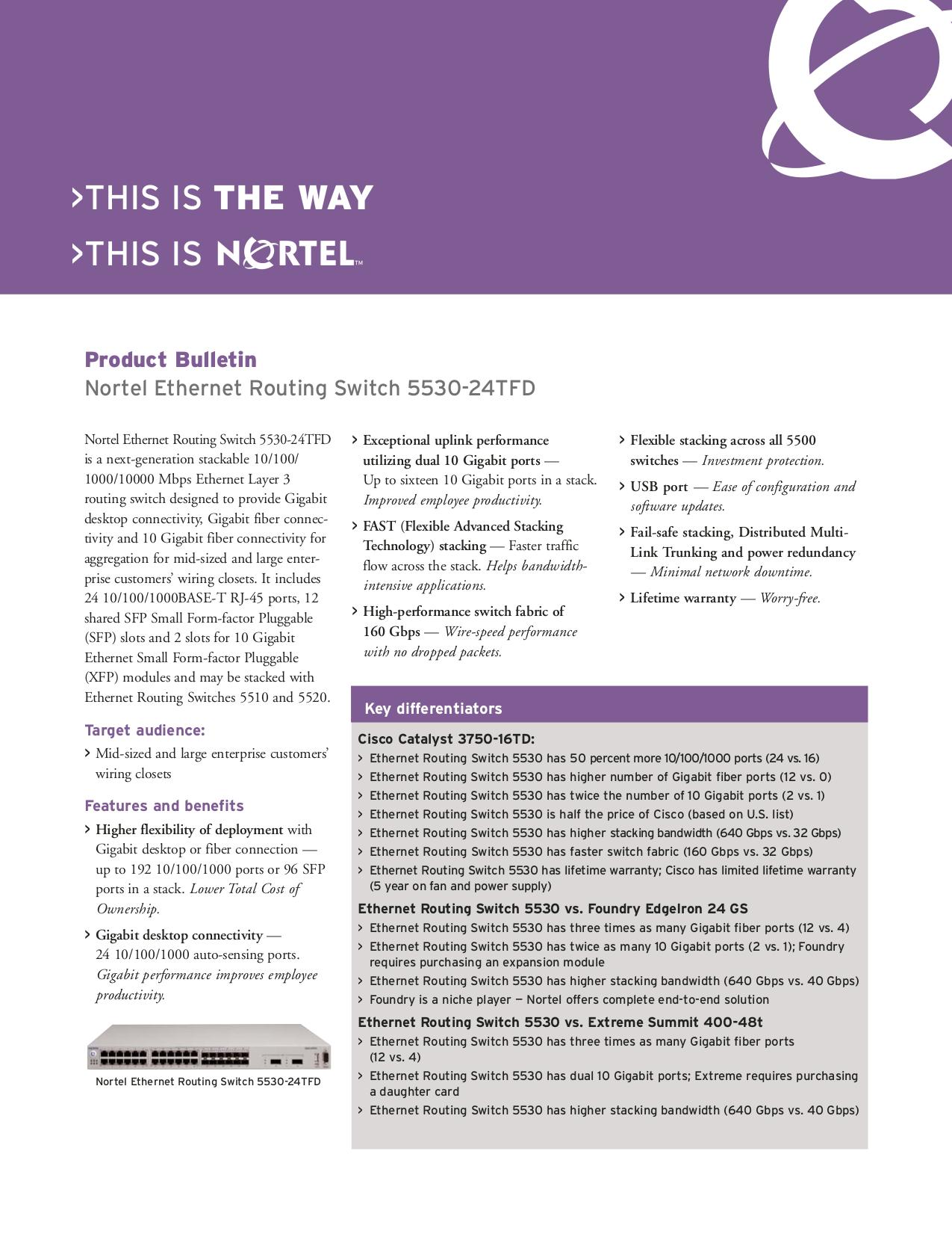 pdf for Nortel Router BCN manual