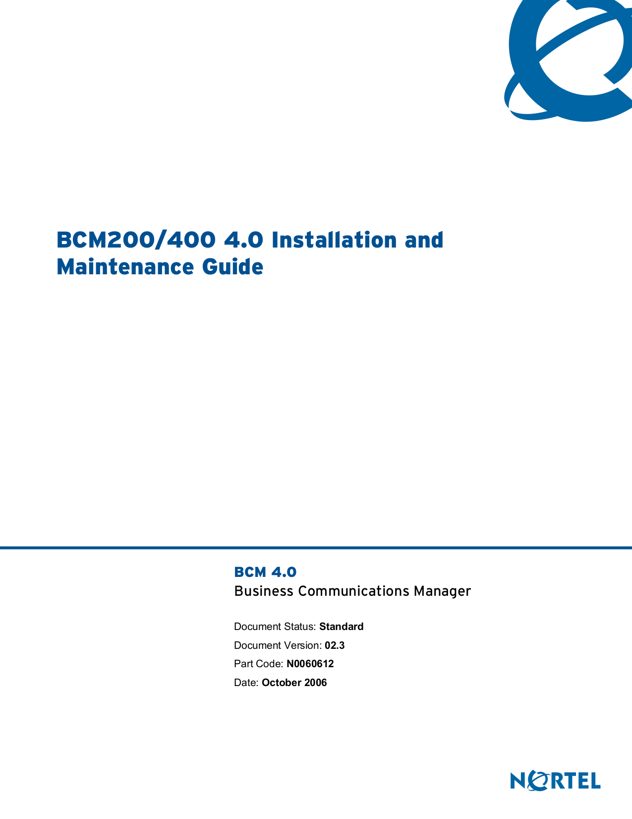 pdf for Nortel Router 252 manual