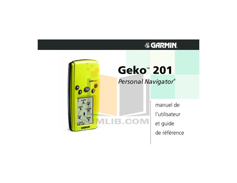 Garmin Geko 201 Инструкция - фото 11