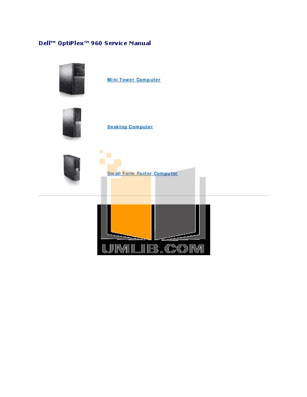 download free pdf for dell optiplex 960 mt desktop manual rh umlib com dell optiplex 960 troubleshooting lights dell optiplex 960 troubleshooting guide