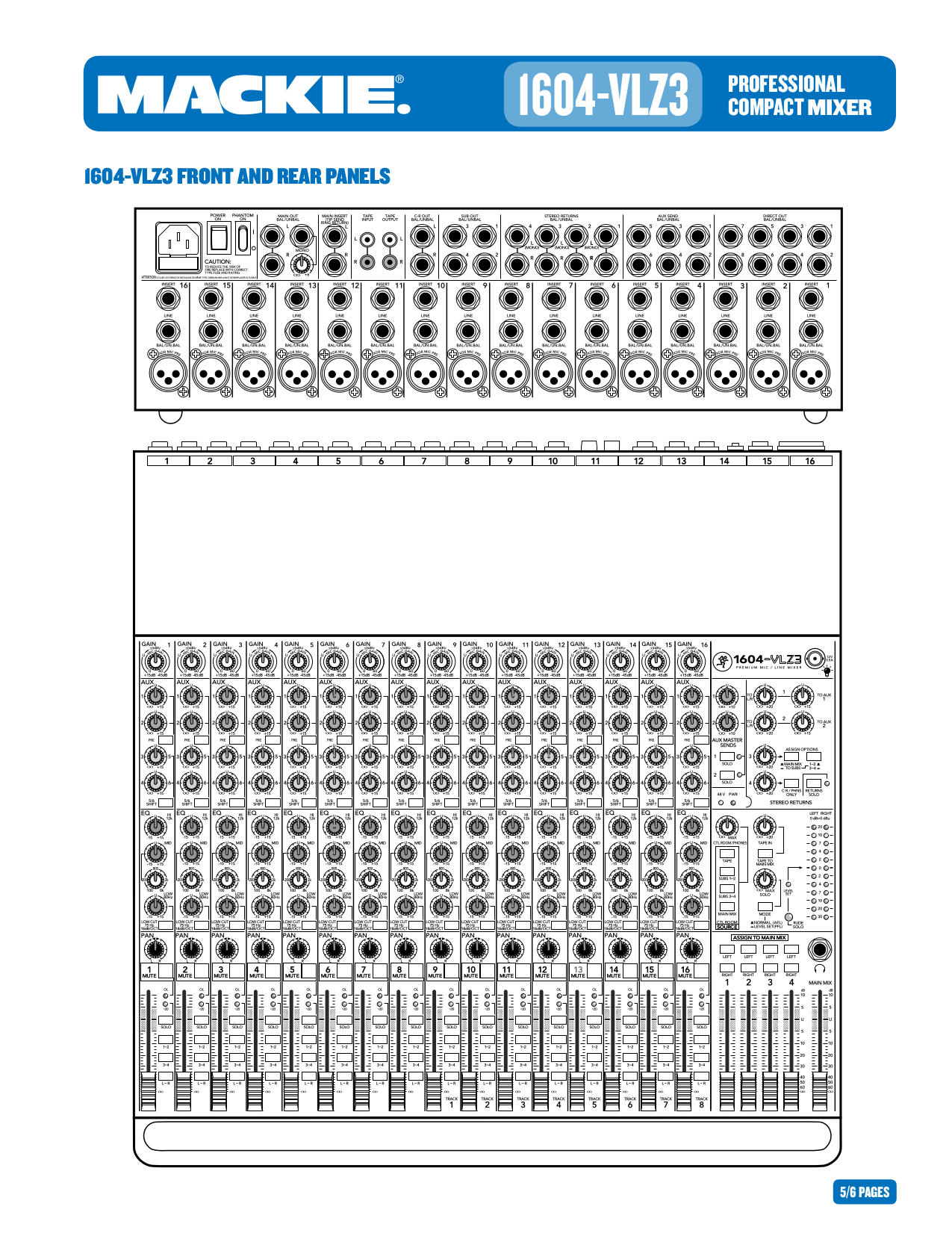 pdf manual for mackie other 1604 vlz pro line mixer rh umlib com mackie 1604 vlz pro manual pdf mackie 1604 vlz pro manual pdf