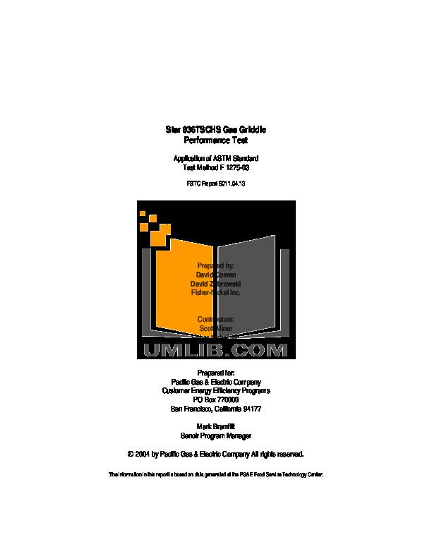 pdf for Blodgett Range B36N-TTT manual