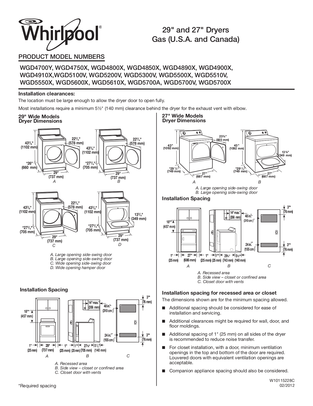 whirlpool dryer repair manual pdf