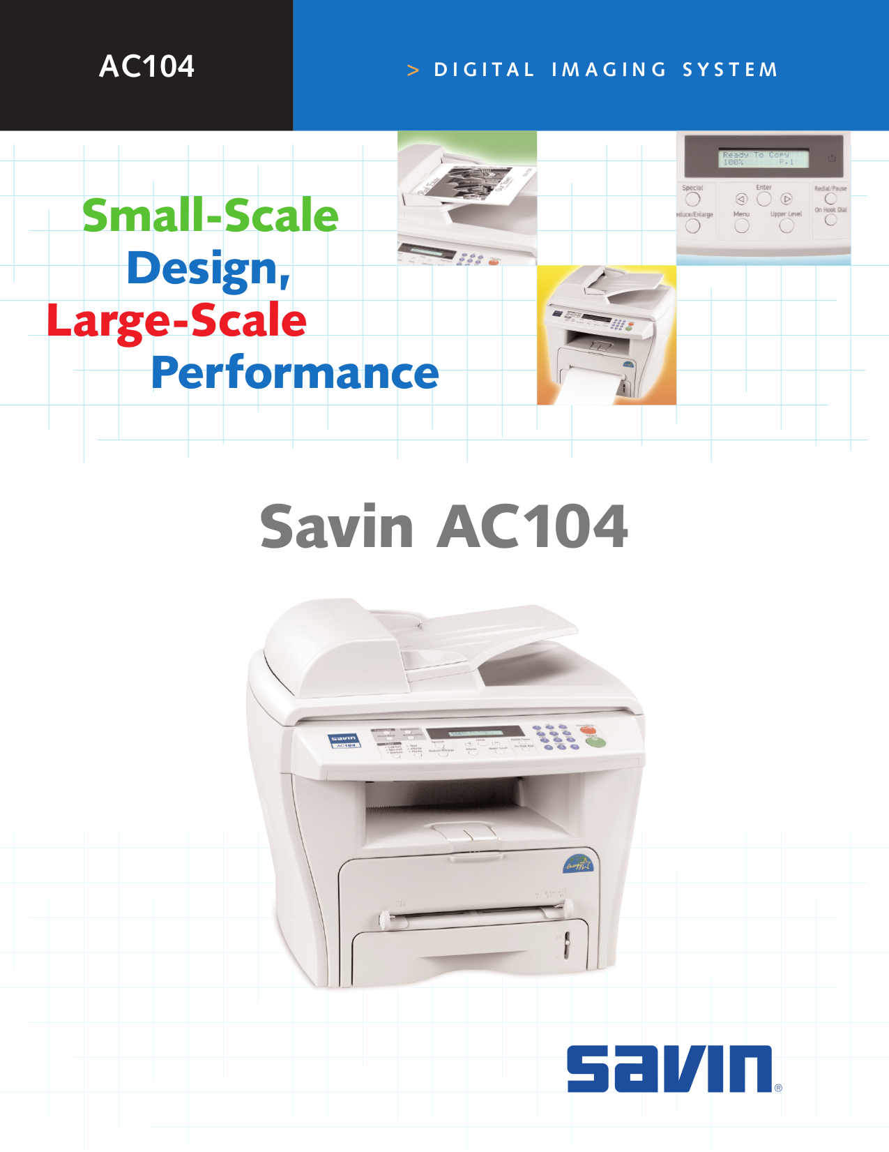 pdf for Ricoh Multifunction Printer AC104 manual