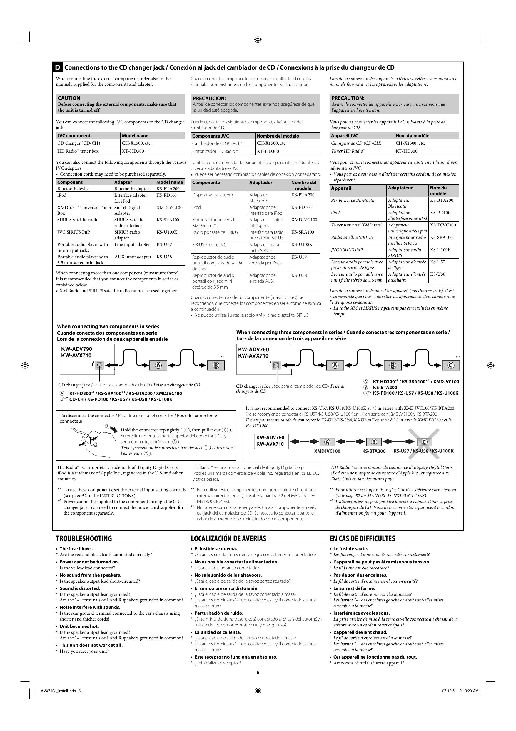 Kw Avx710 Wiring Diagram Free Download Diagrams Schematics Jvc Av60bt Maxwell Windlass Ez Pressure Switch Pdf Manual For Car Video Lvt1778 002a 611990