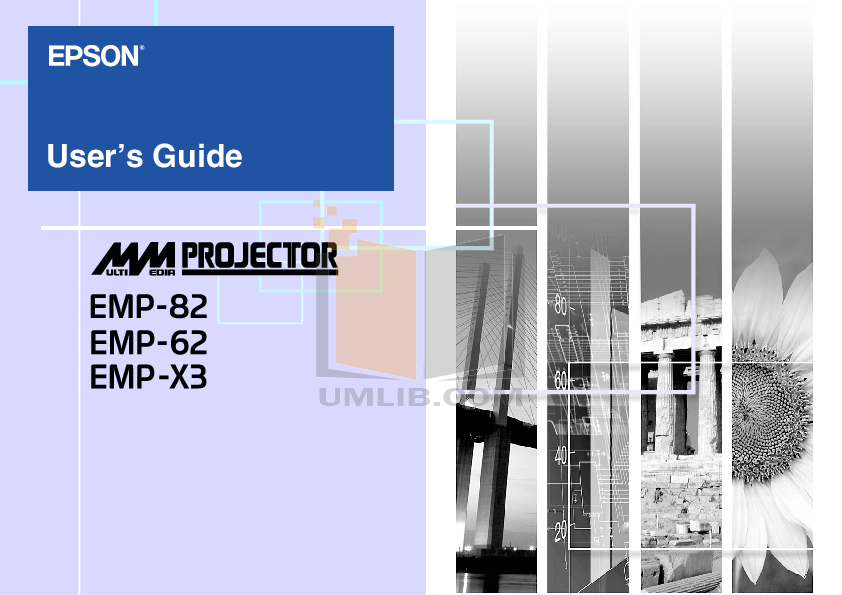 pdf for Epson Projector EMP-S42 manual