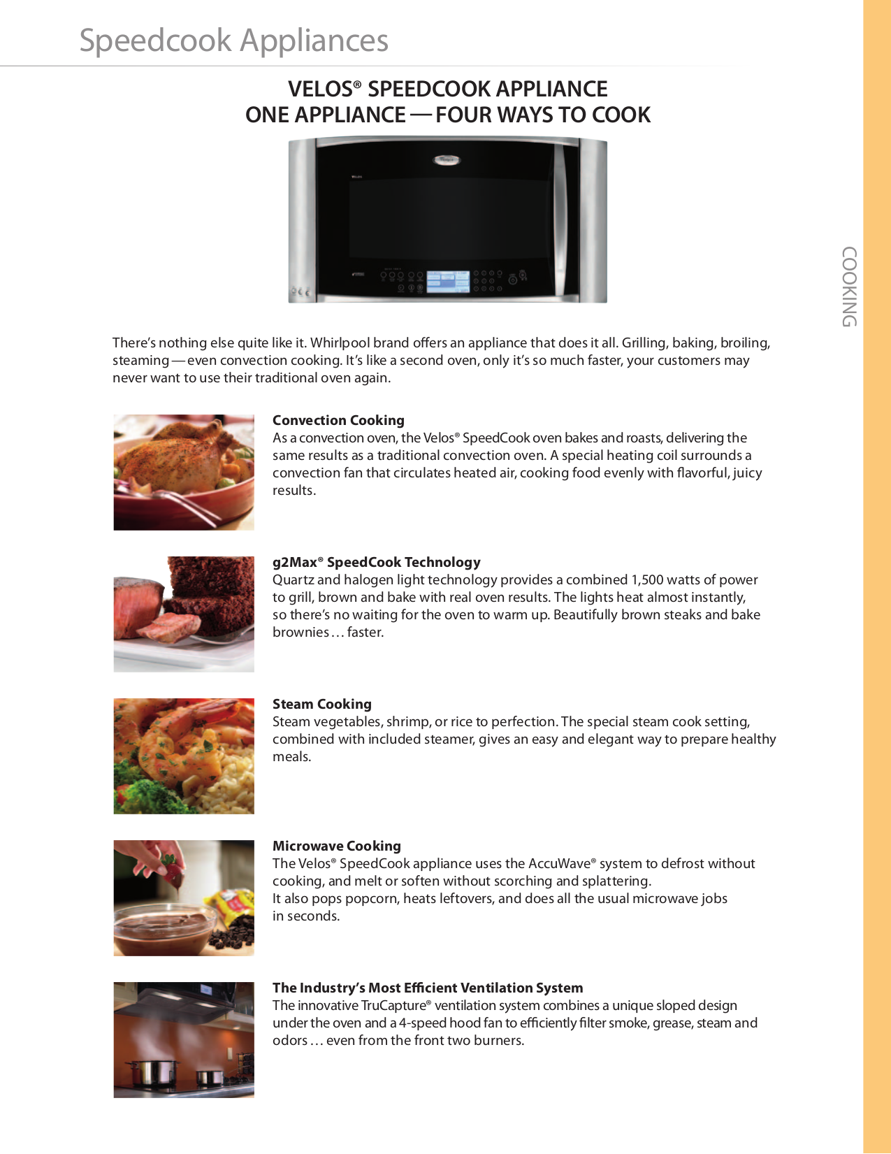 pdf for Whirlpool Microwave WMH2205XV manual