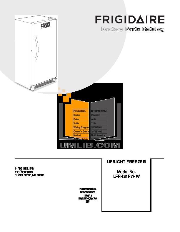 download free pdf for frigidaire lffh21f7hw freezer manual rh umlib com Frigidaire Gallery Refrigerator User Manual Frigidaire Refrigerator Manual Online