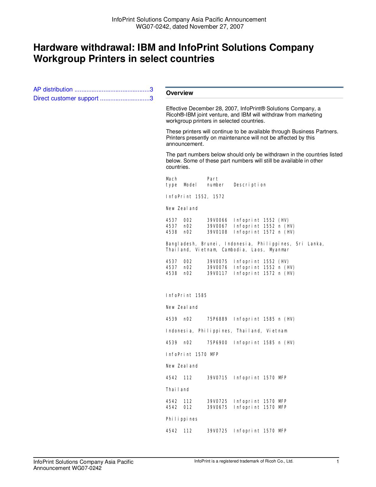 download free pdf for ibm infoprint 1764dn printer manual rh umlib com ibm 4247 v03 printer manual IBM 3130 Printer