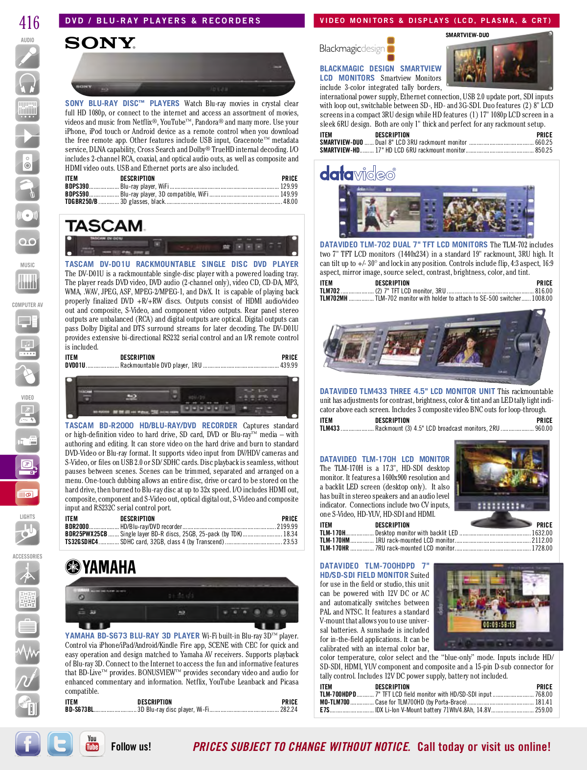 Optoma Projector TW775 pdf page preview