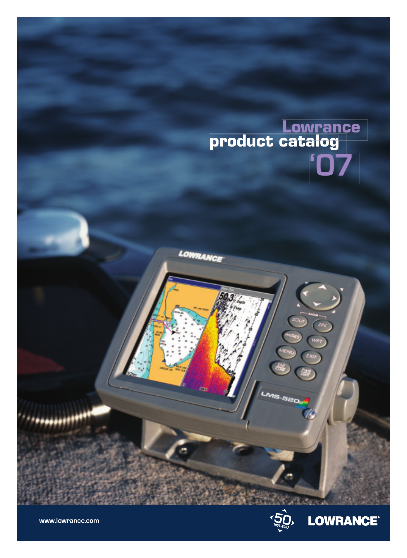 pdf for Lowrance GPS GlobalMap 9200C manual