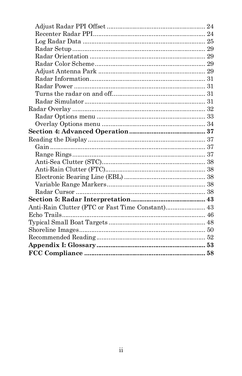 Lowrance GPS GlobalMap 9200C pdf page preview