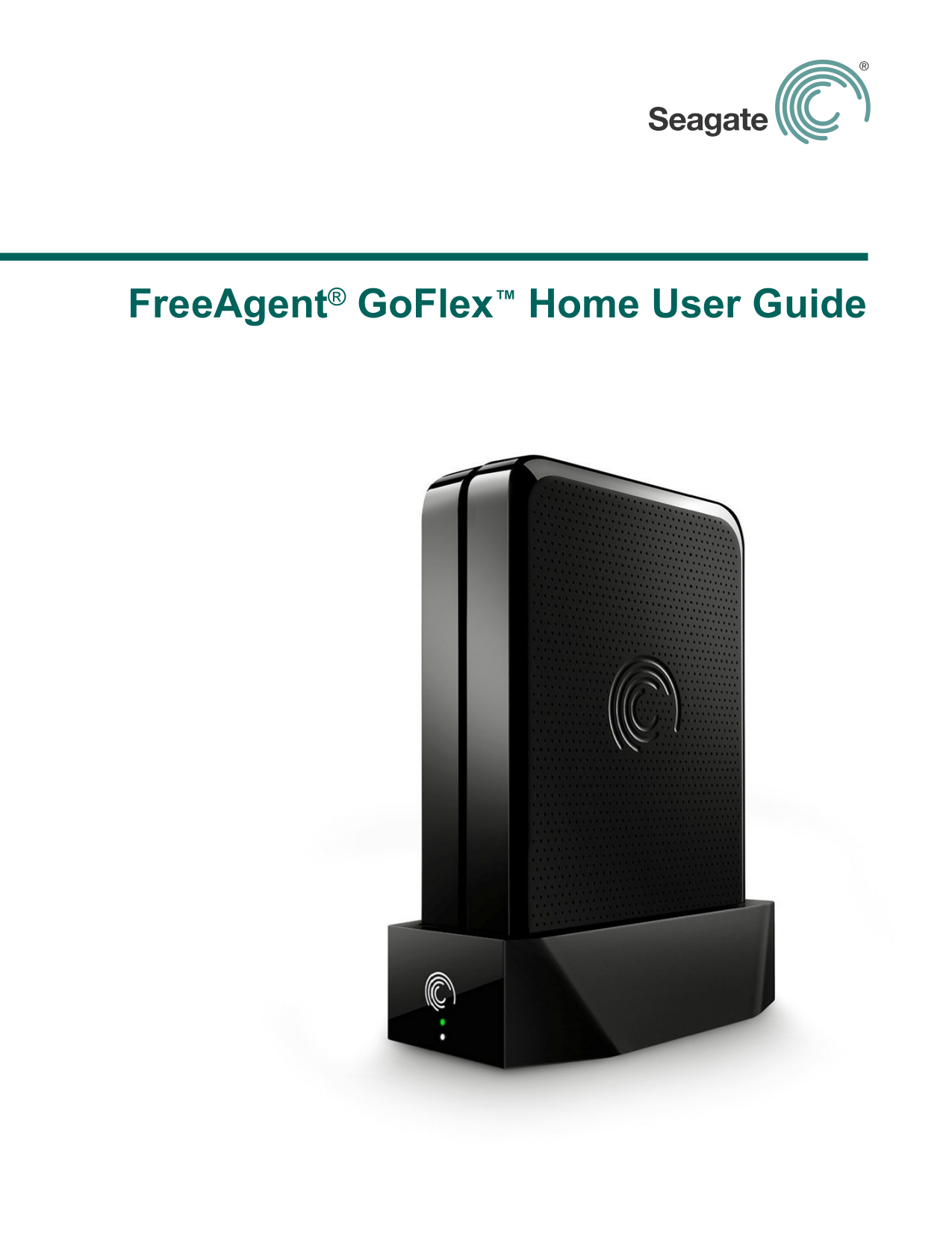 Pdf For Seagate Storage FreeAgent Desk 2TB Manual
