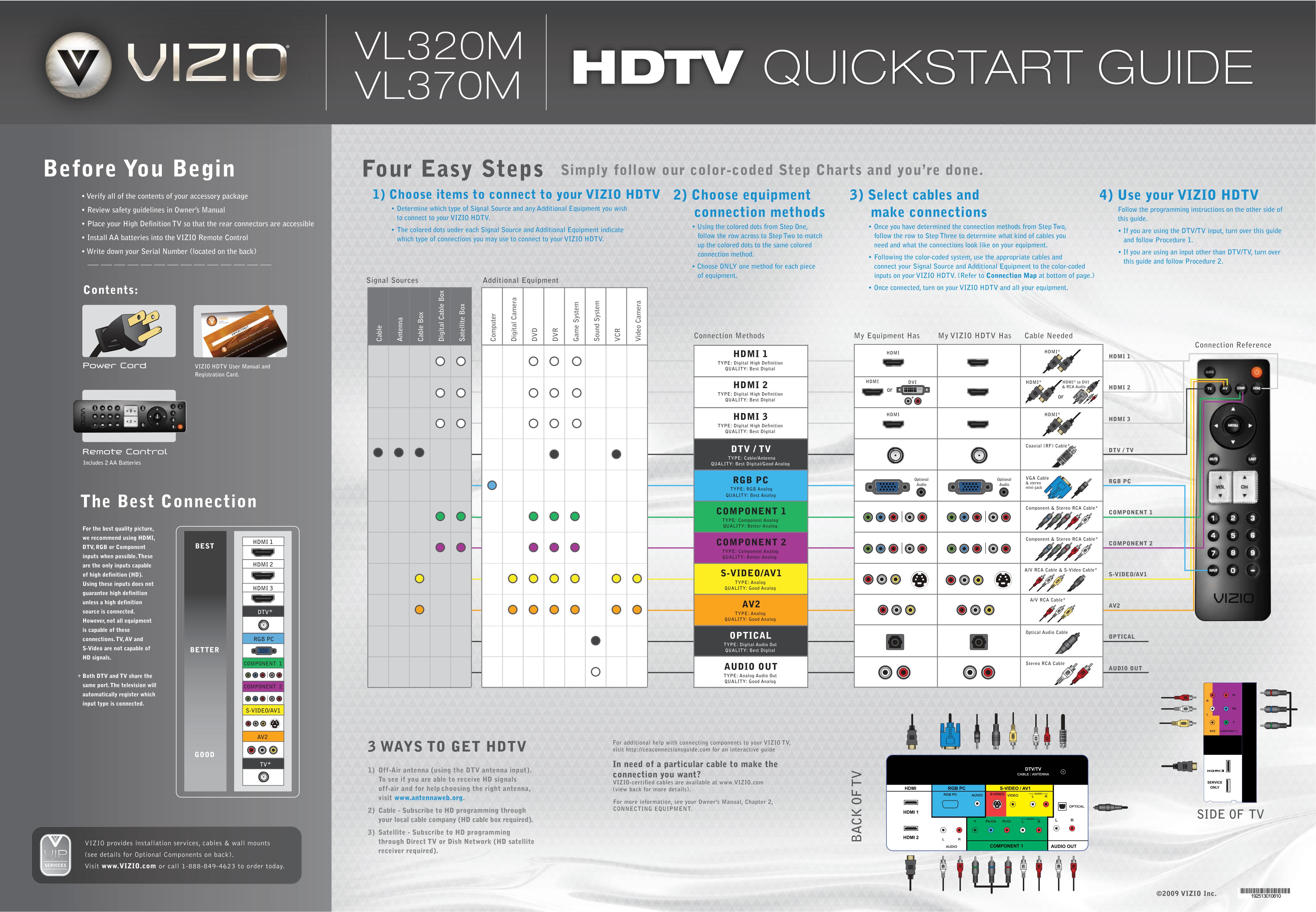 download free pdf for vizio vl370m tv manual rh umlib com Vizio VX37L Service Manual Vizio VX37L Service Manual