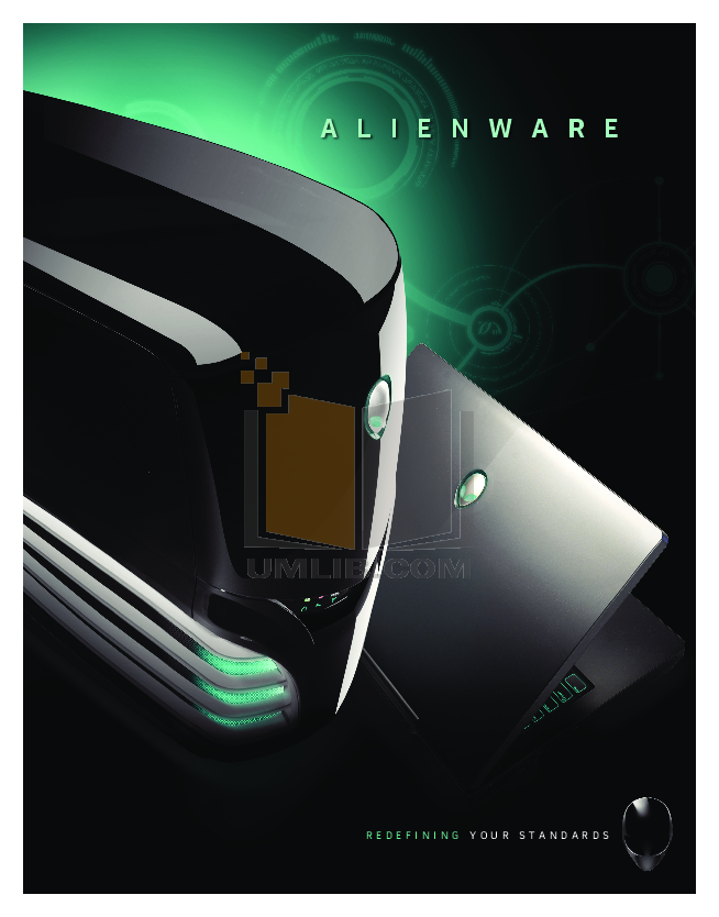 pdf for Alienware Desktop Hangar18 manual
