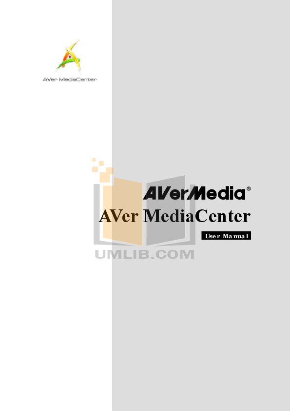 pdf for Avermedia Other AVerTV Hybrid NanoExpress TV Tuner Cards manual