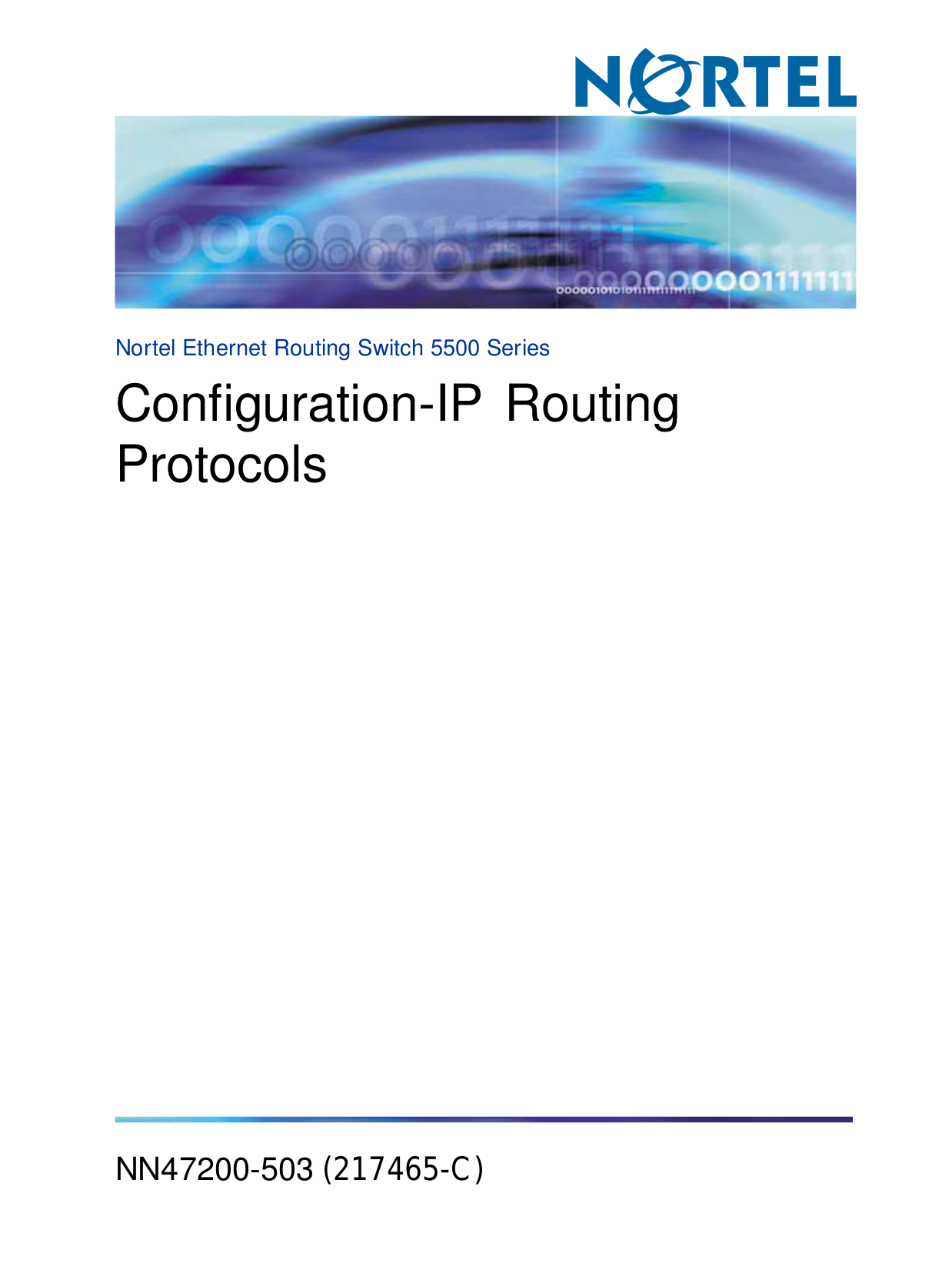 pdf for Nortel Router 222 manual