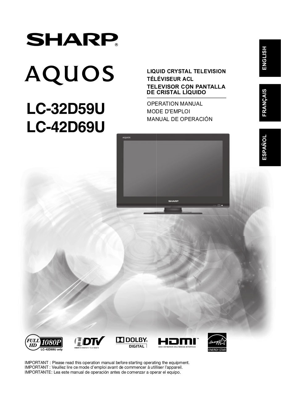 sharp aquos manual daily instruction manual guides u2022 rh testingwordpress co manual tv sharp aquos español manual tv sharp aquos español