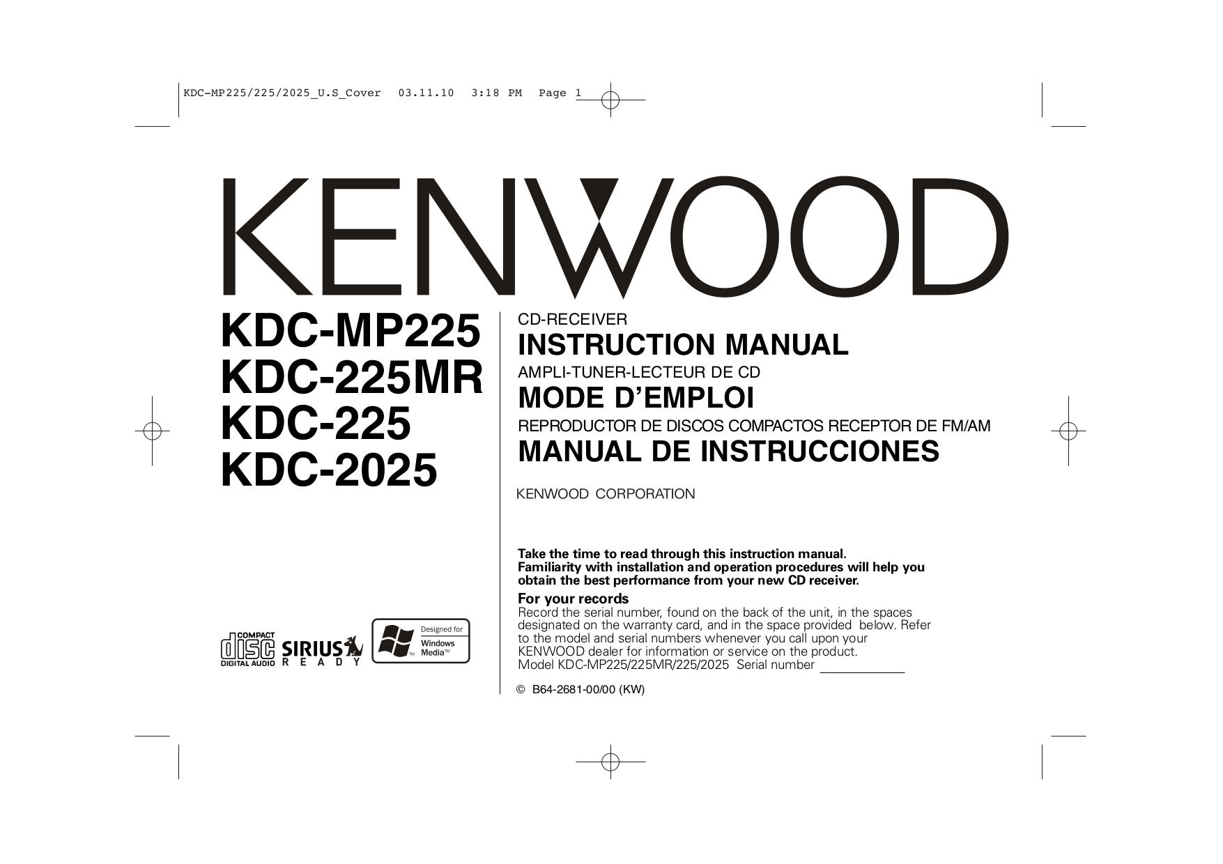 Kenwood Kdc Wiring Diagram Model on kenwood model kdc-352u, kenwood wiring external speaker, kenwood radios,