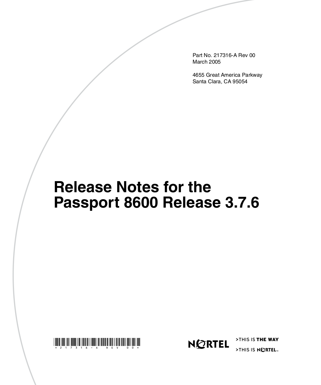 pdf for Nortel Switch Passport 8608SXE manual
