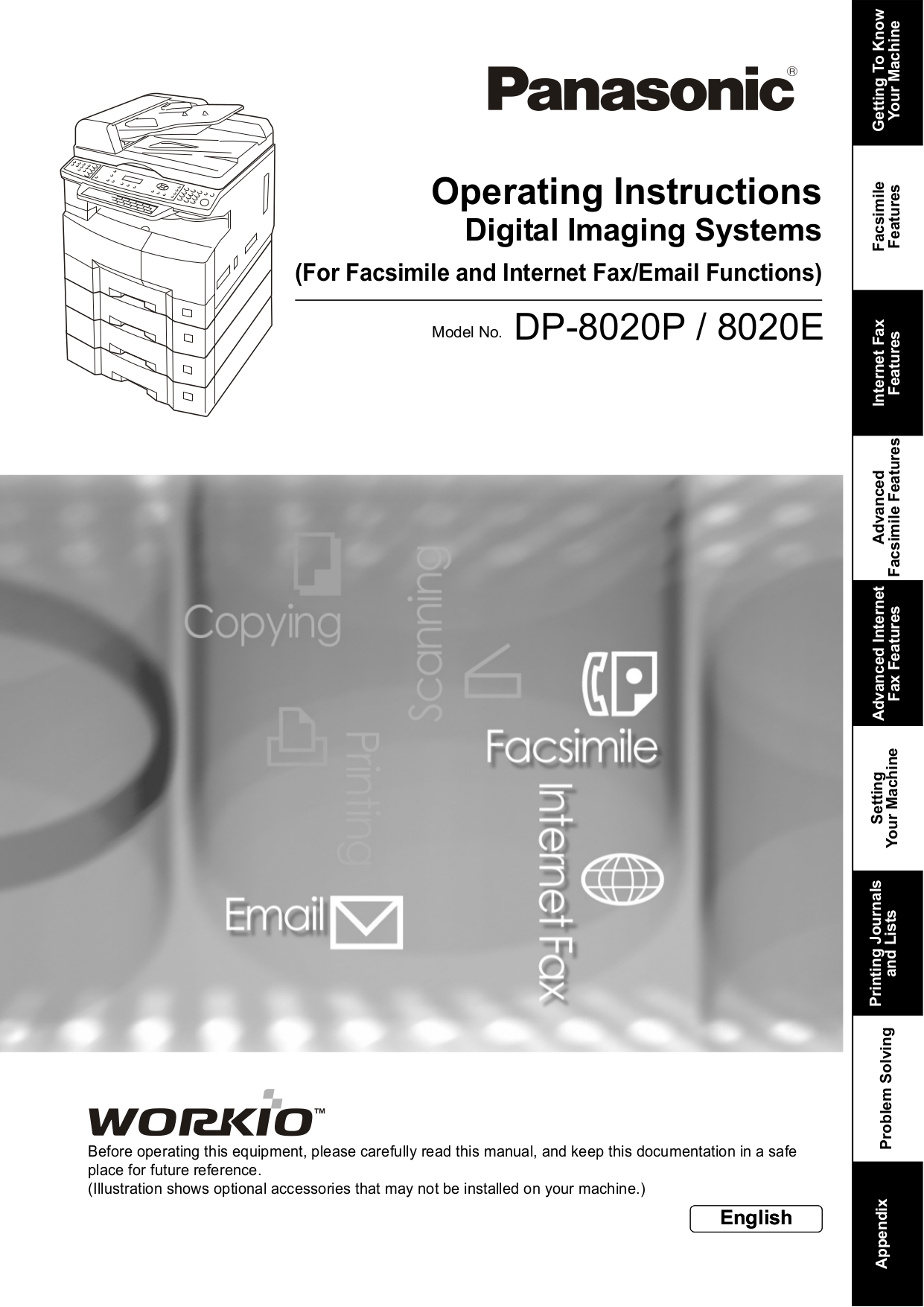download free pdf for panasonic workio dp 135fp copier manual rh umlib com Copier Technician Copier Technician