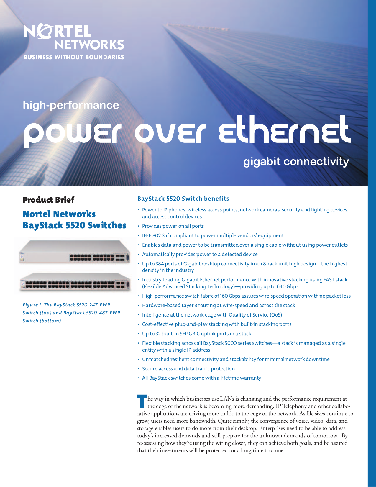 pdf for Nortel Switch 120-48T PWR manual