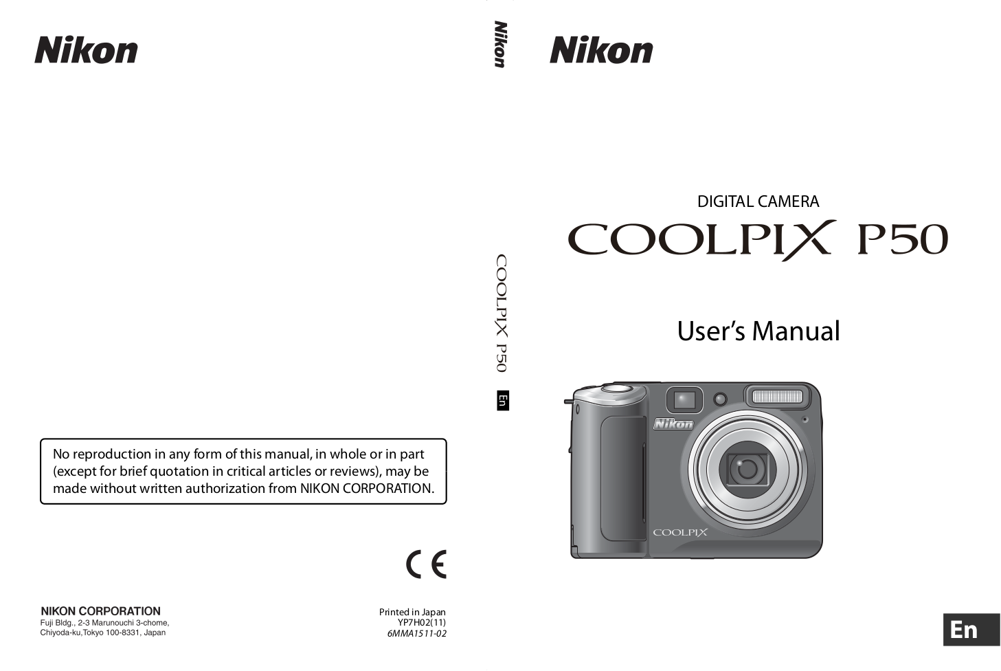 pdf for Nikon Other EH-65A Camera AC Adapter manual