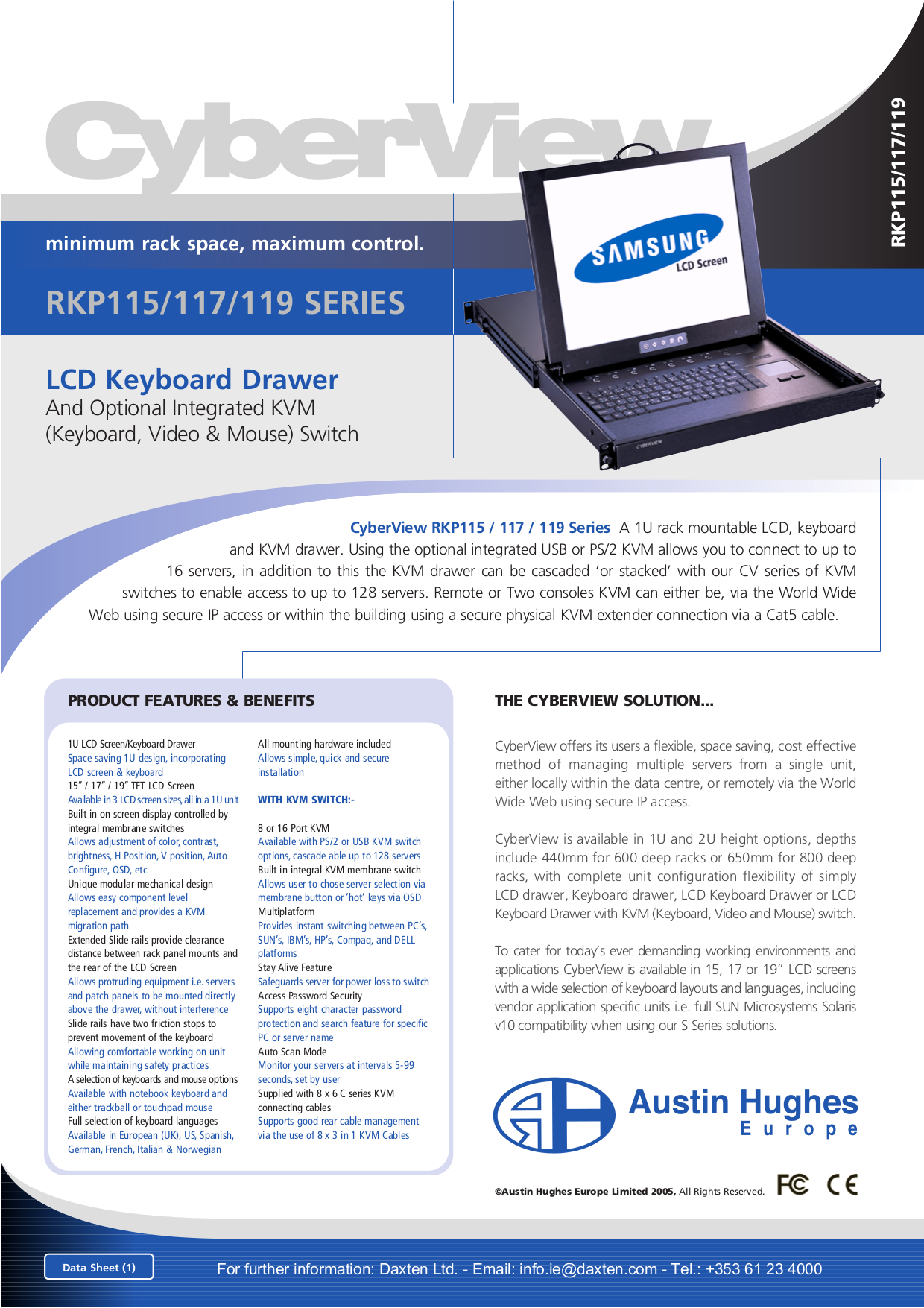 I-Tech Other RKP115-1602 Keyboard Drawers pdf page preview