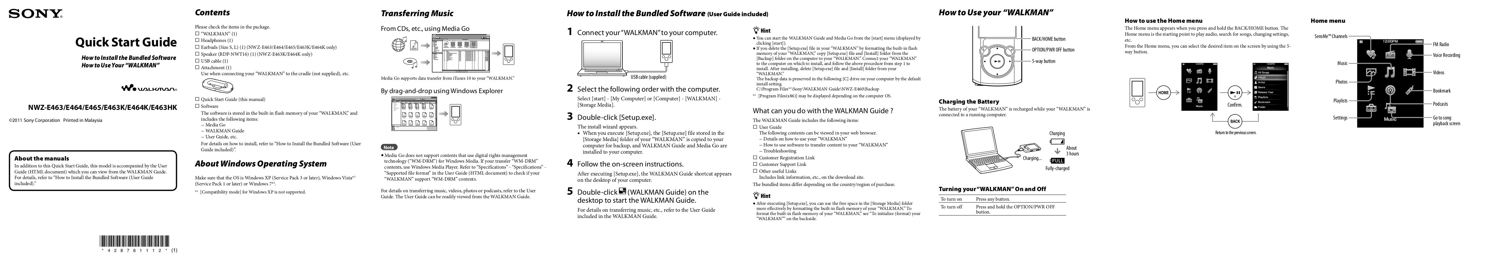 download free pdf for sony walkman nwz e464 mp3 player manual Sony Walkman Nwz- A15 sony walkman digital media player nwz-e464 manual
