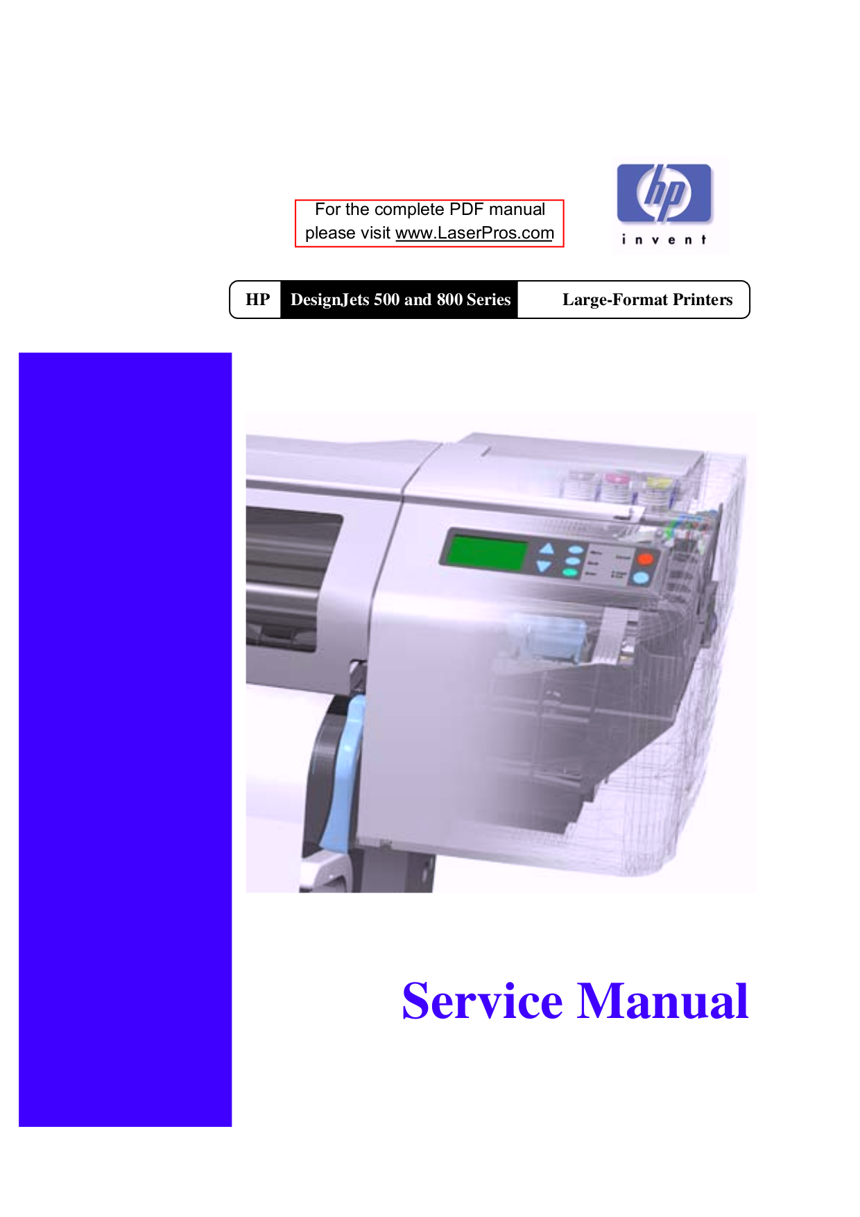 Hp 1055Cm Plotter Manual