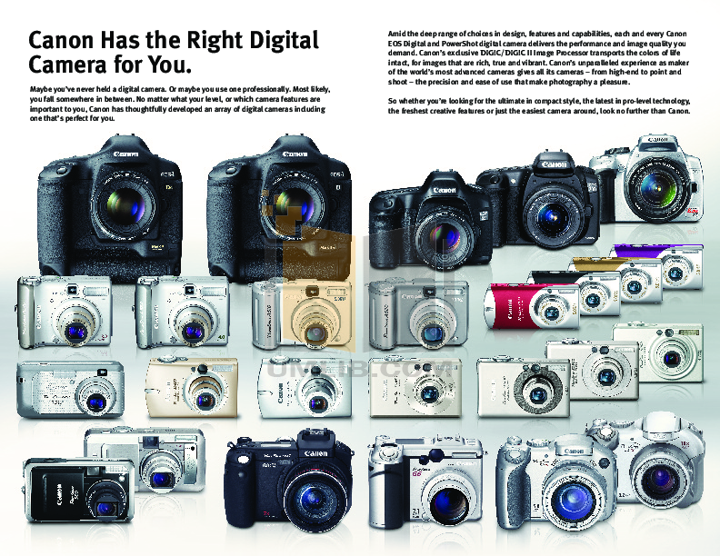 Canon Digital Camera Powershot A510 pdf page preview