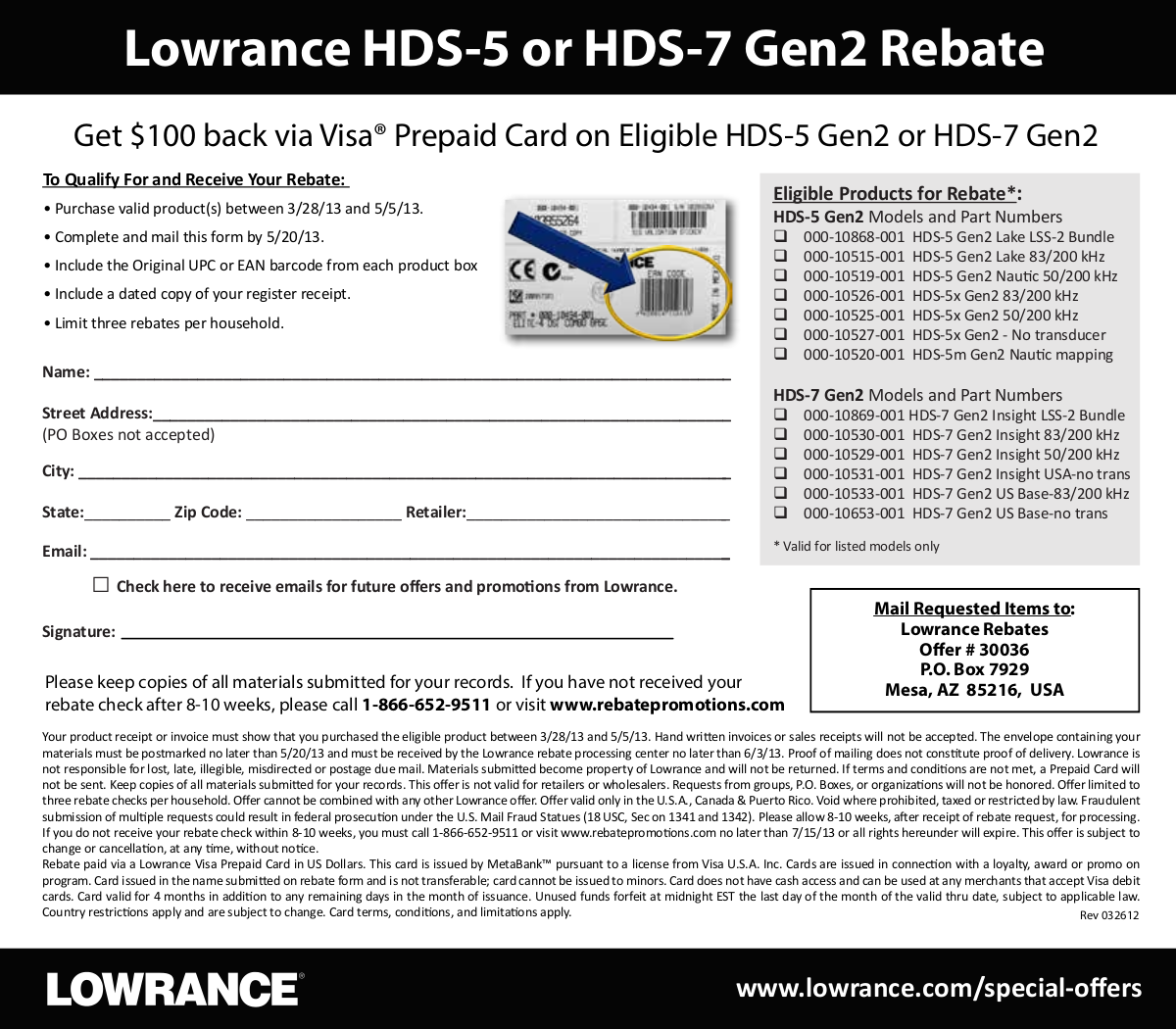 pdf for Lowrance GPS HDS-5 manual