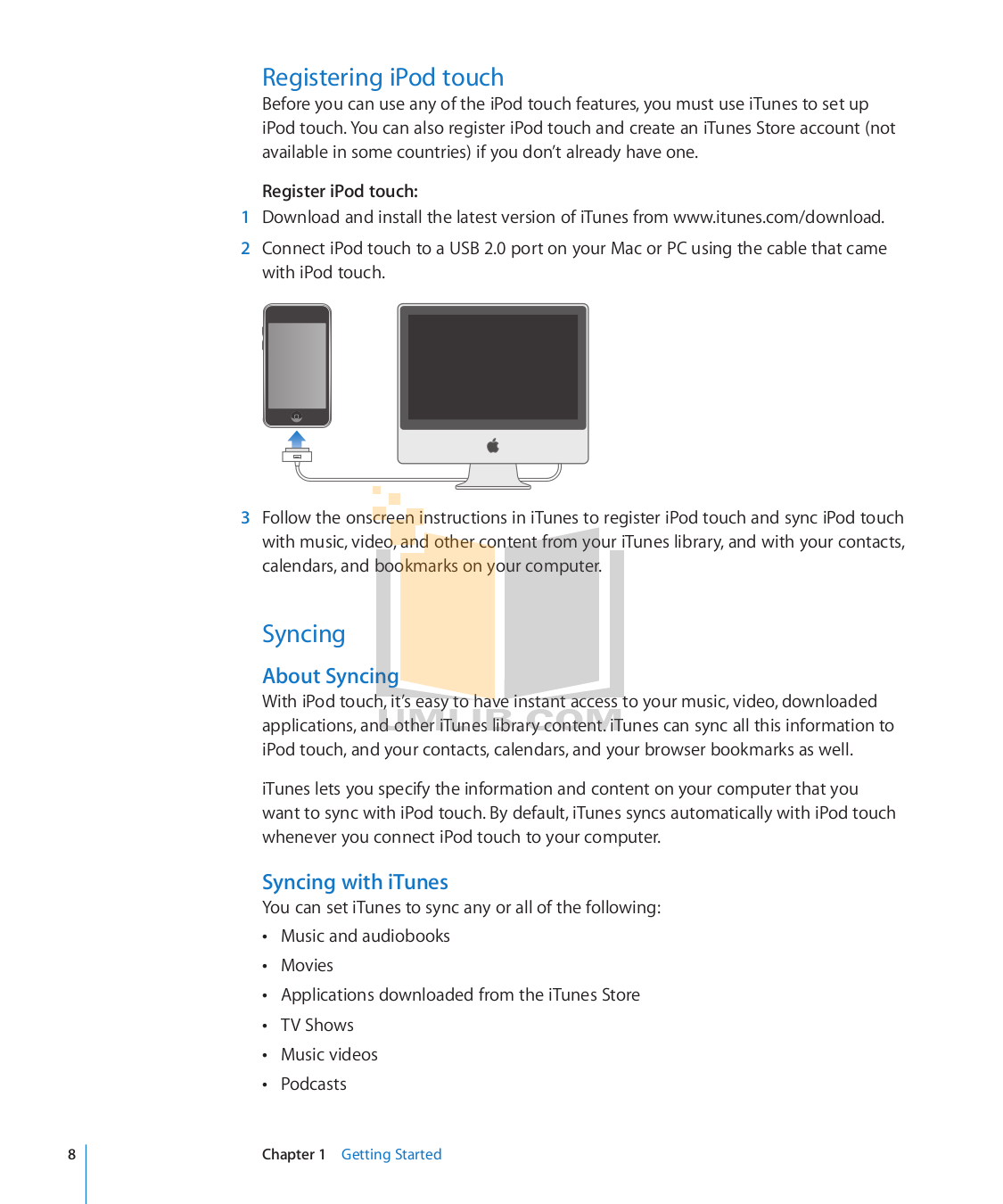 Ipod Touch 2 Manual Vdo Synchronizer Gauge Wiring Diagram Array Pdf For Apple Mp3 Player Third Gen 32gb Rh Umlib
