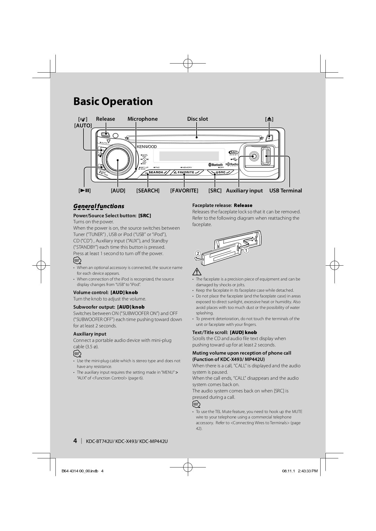Kdc X493 Manual Wiring Diagram Kenwood Mp442u Array Pdf For Car Receiver 135 Rh Umlib Com