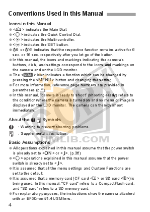 Canon Digital Camera EOS 1Ds Mark III pdf page preview