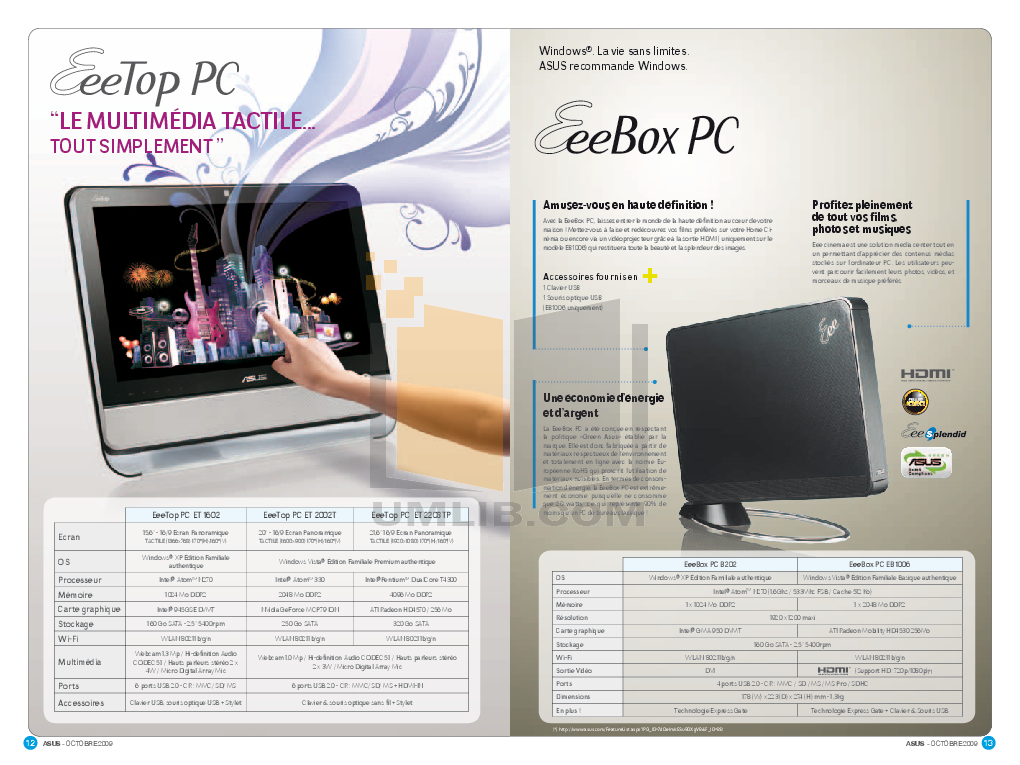 Asus Monitor VK246H pdf page preview