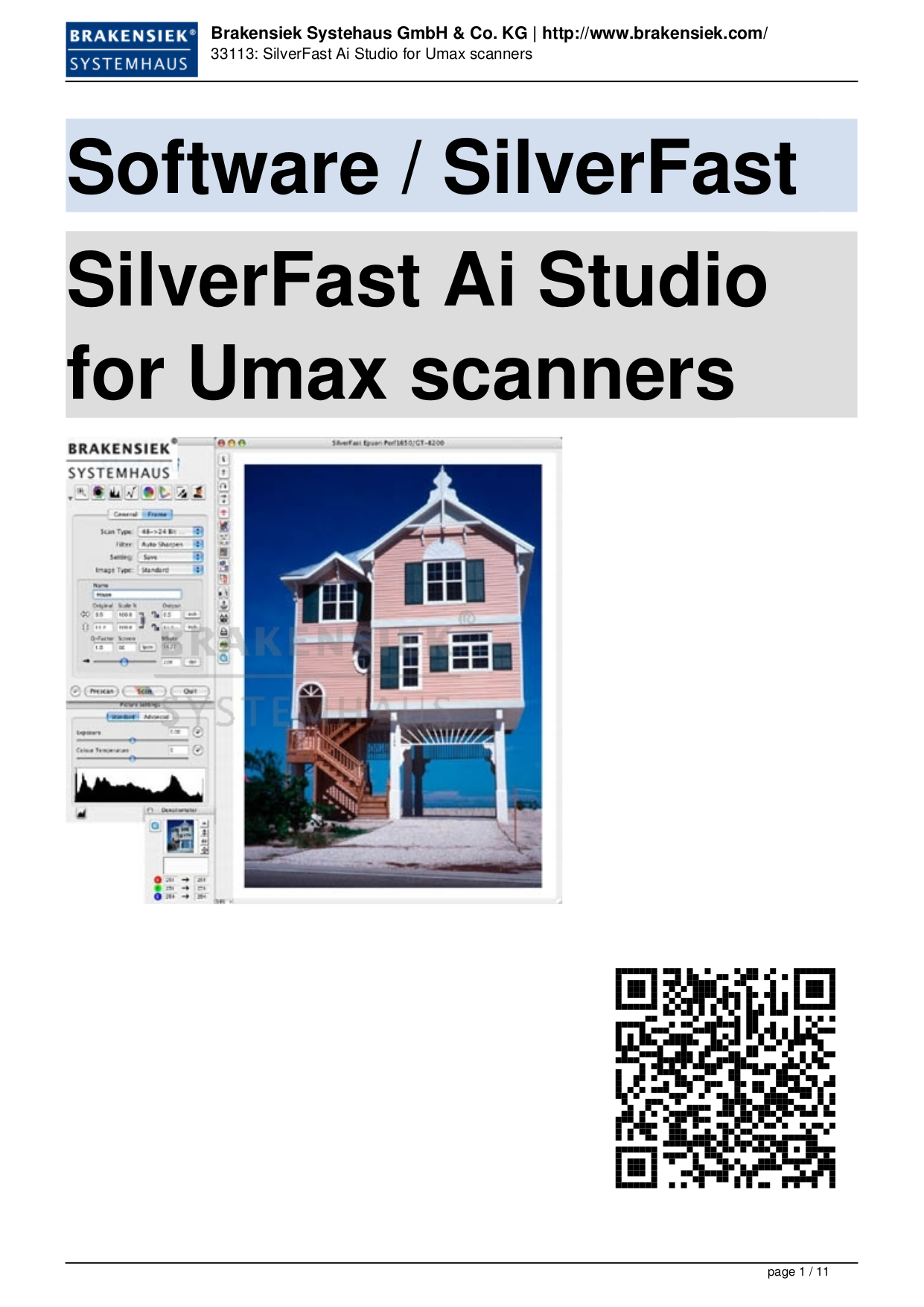 pdf for Umax Scanner Mirage Mirage II manual