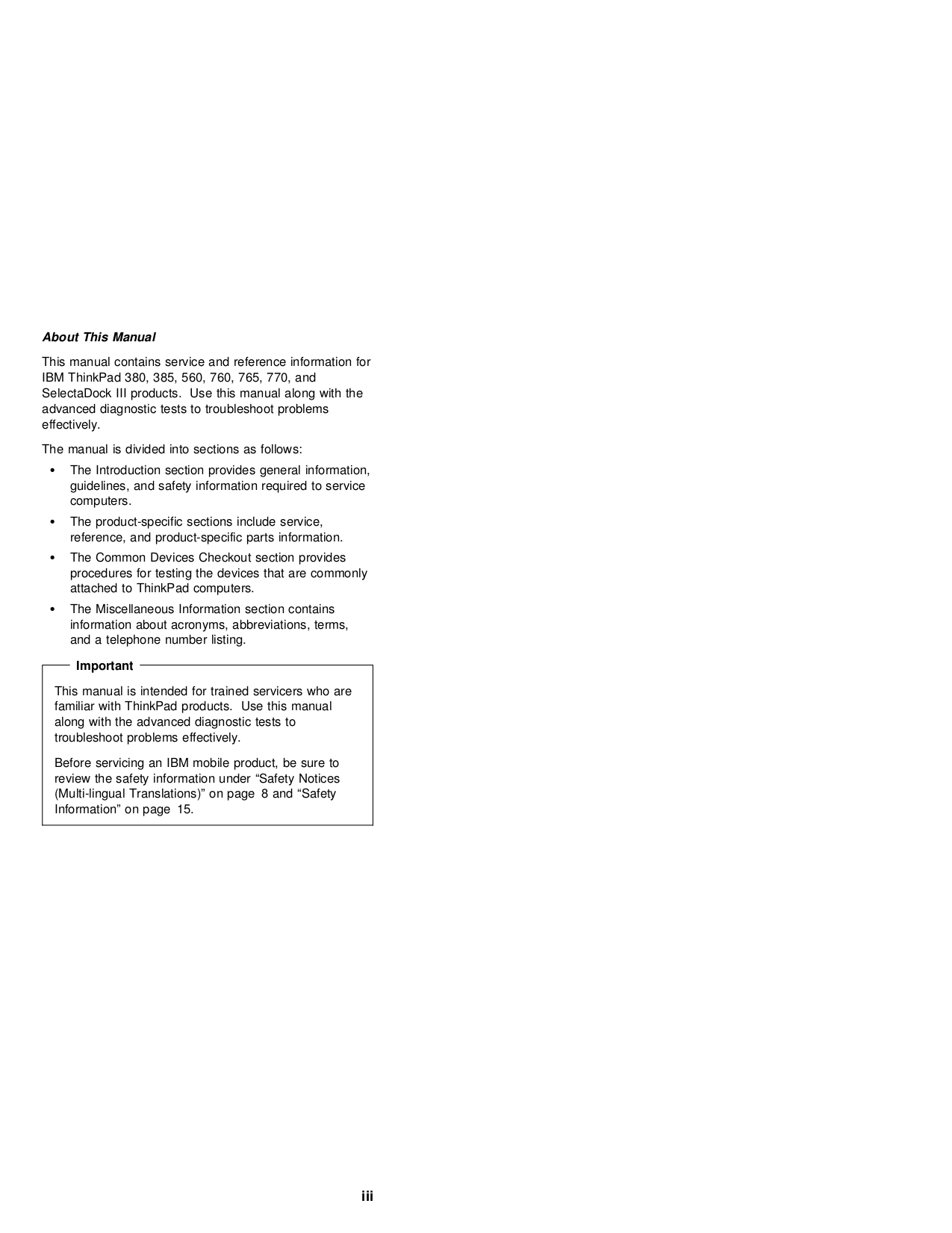 ... IBM Laptop ThinkPad 560P pdf page preview ...