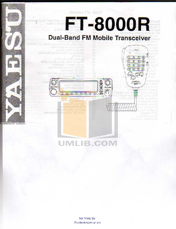 pdf for Disney Speaker DDS8000 manual