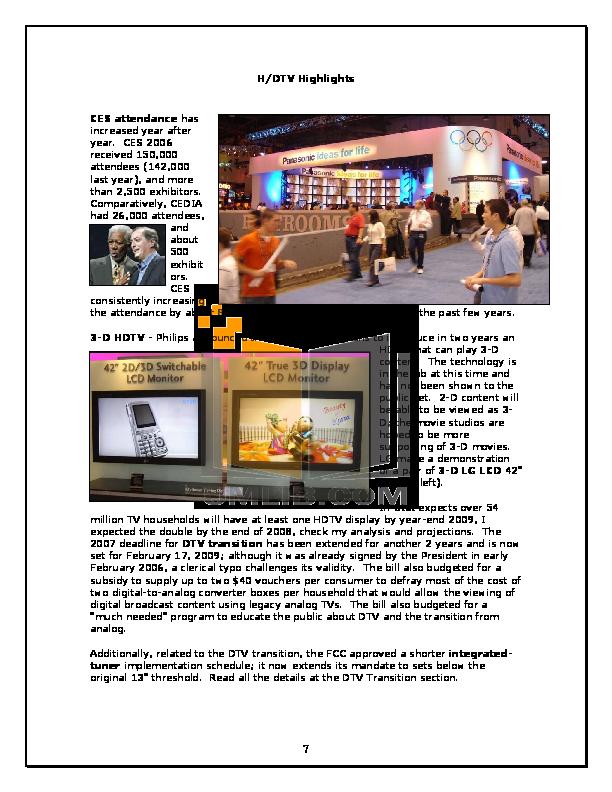 Hitachi TV 42HDS52 pdf page preview