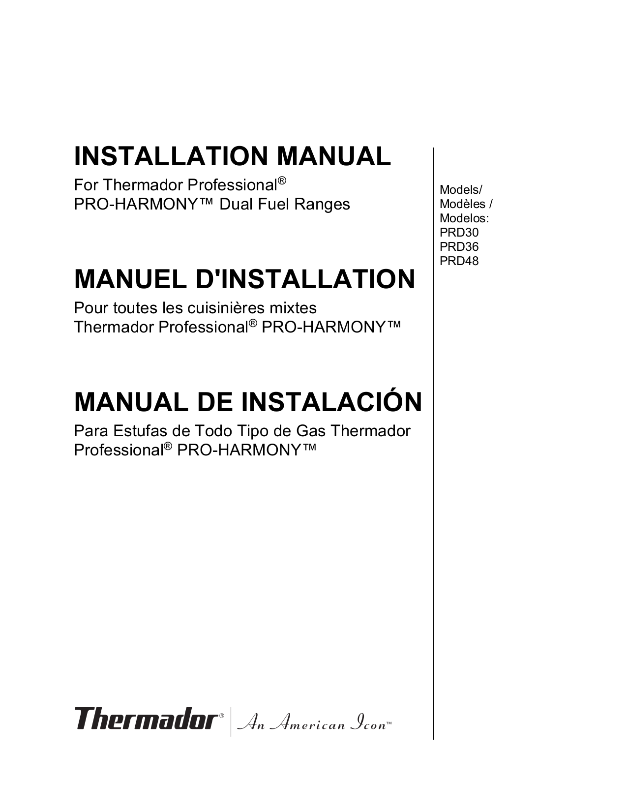 Thermador range pd304 364 366 484 486 service manual   grilling.