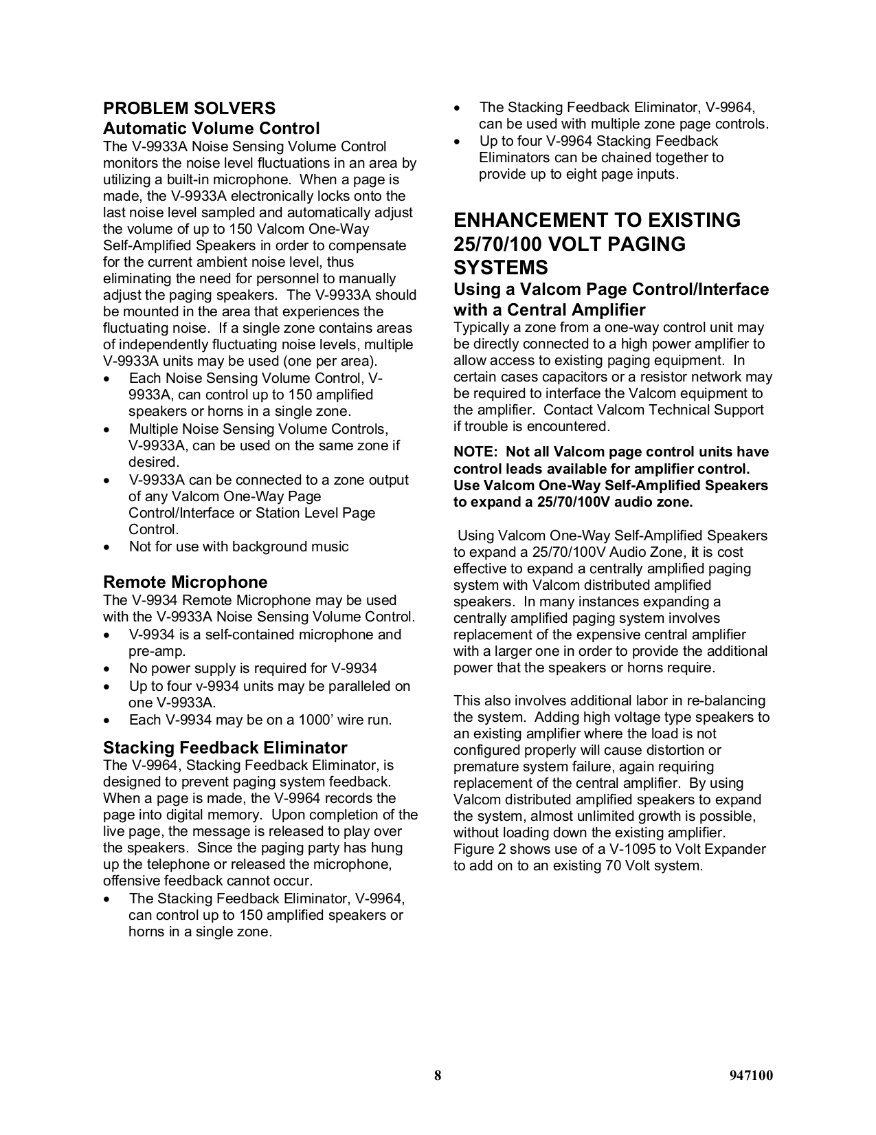 Wiring Diagram 70 Volts Amplifier Page 5 And Up Speakers Volt Volume Control Solutions