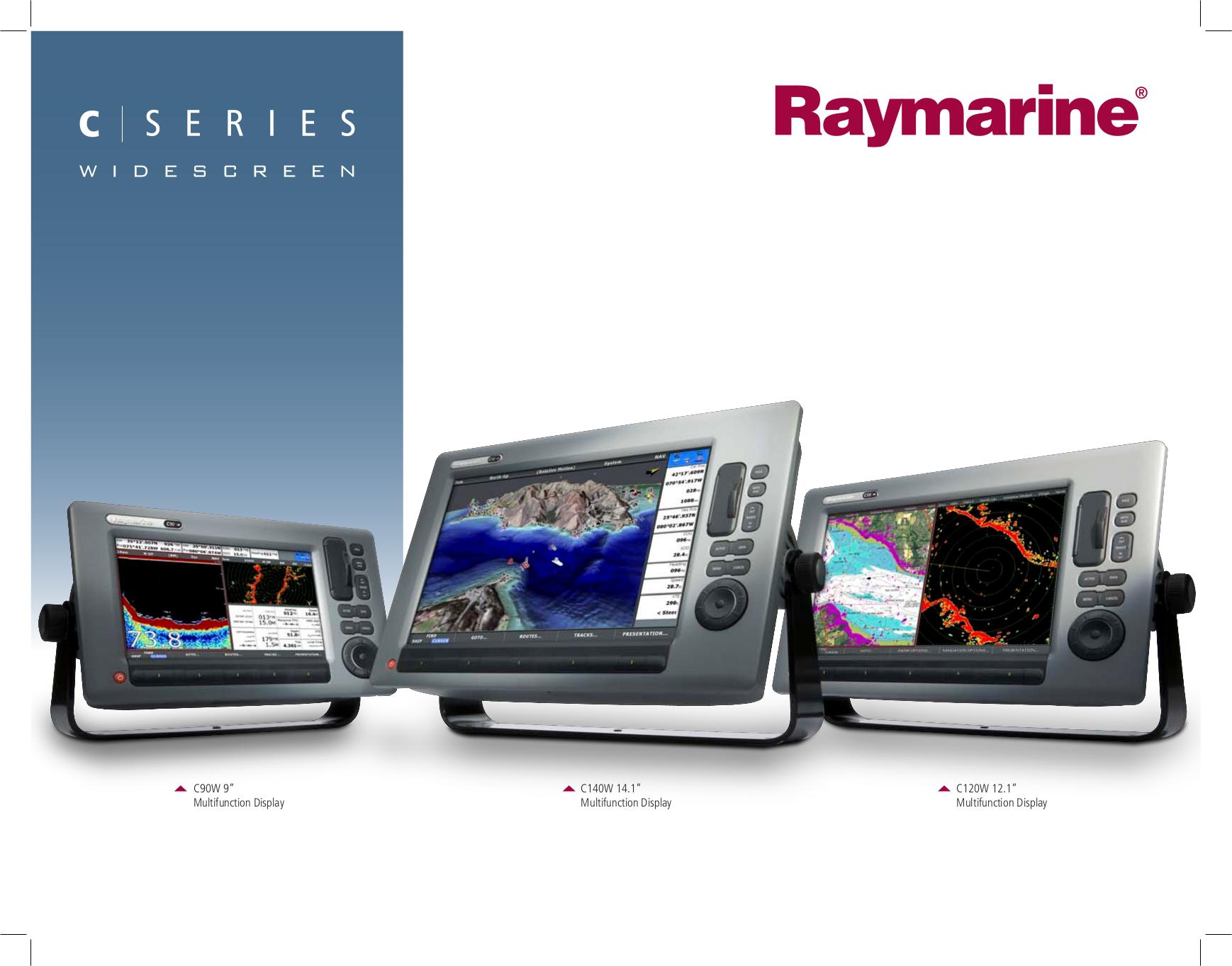 download free pdf for raymarine c series c90w gps manual rh umlib com Raymarine Fishfinder Raymarine Fishfinder