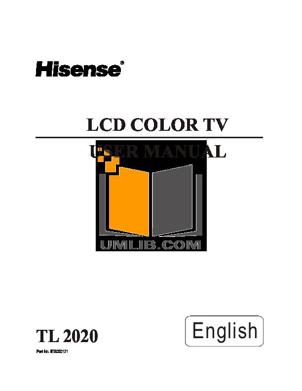 Hisense 55h6b user manual