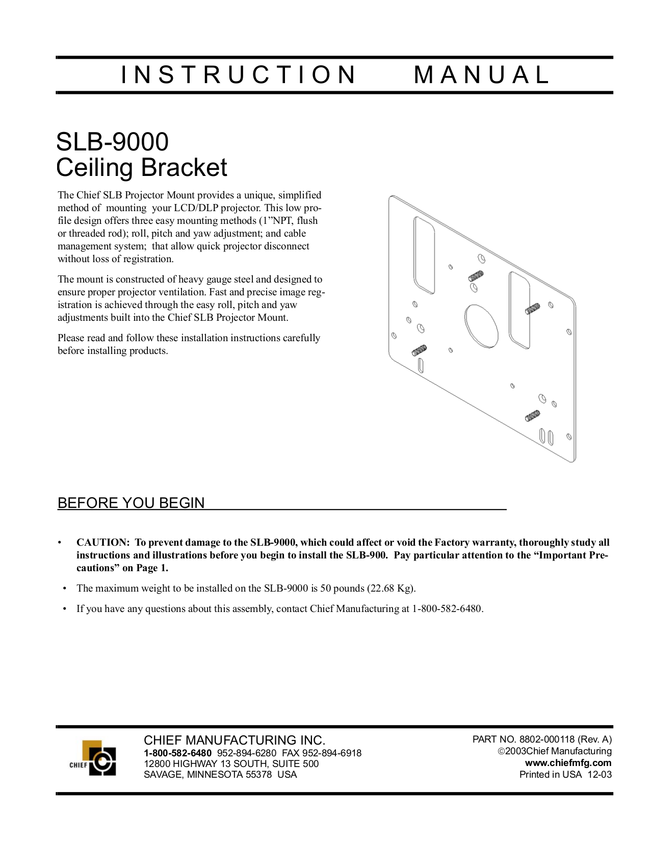 pdf for Knoll Projector HD110 manual