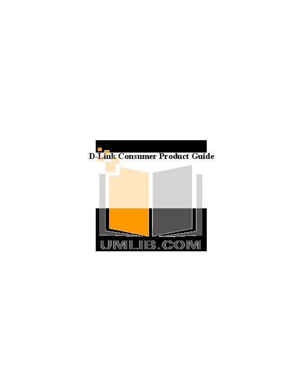 pdf for D-link Other DWL-G800AP manual