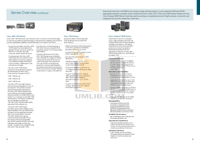 Cisco Router 7500 pdf page preview